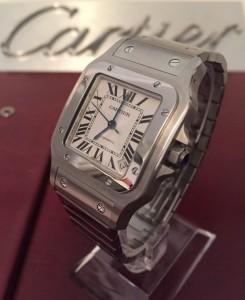 SOLD Cartier Santos (SOLD) Galbee XL