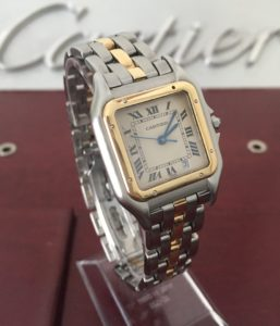 Cartier Panthere 18k Gold / Stainless Steel Quartz Watch